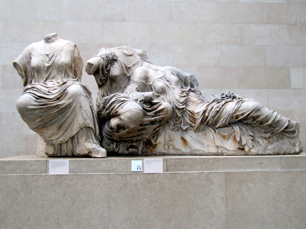Statue from the Parthenon, The British Museum.