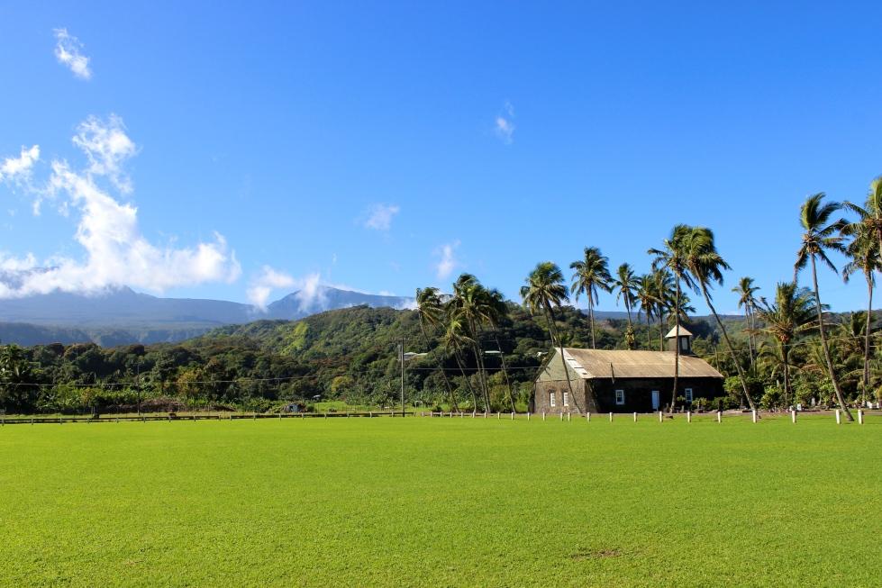 Old village, Ke'anae Peninsula, Road to Hana, Maui, Hawaii